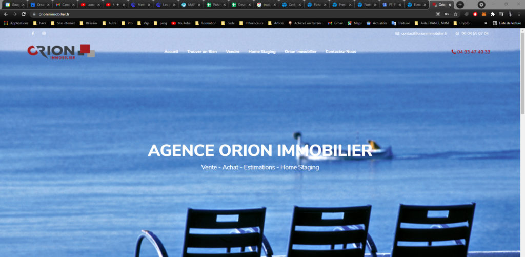 Agence Orion Immobilier Digital Web Marketing